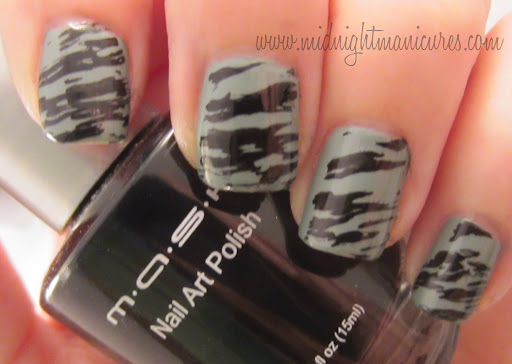 Mash Nail Art Polish 2012 Plates And Other Accessories Midnight